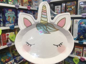 8 Assiettes We Heart Unicorn