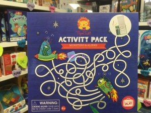 Activity Pack - Monstres