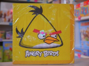 20 Serviettes Angry Birds