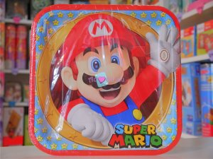 Assiettes Mario Bros