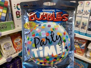 Ballon Bubble 22'' - Party Time