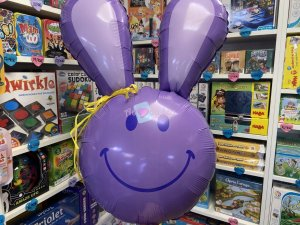 Ballon Géant Smiley Lapin