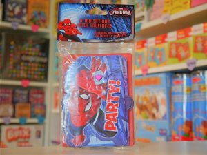 Cartes d'Invitation Anniversaire Spiderman
