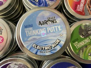 Crazy Aarons Scentsory Putty 5cm - Electric Blue