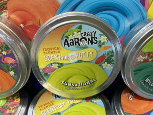 Crazy Aarons Scentsory Putty 7cm - Sunsational