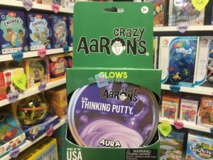 Crazy Aaron's Thinking Putty 10cm - Aura