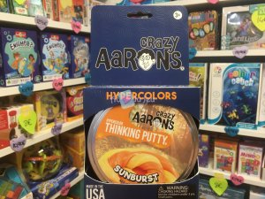 Crazy Aaron's Thinking Putty 10cm - Sunburst