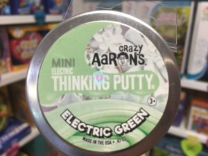 Crazy Aaron's Thinking Putty 5cm - Eletric Green