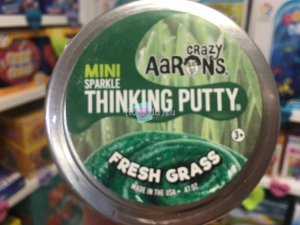 Crazy Aaron's Thinking Putty 5cm - Fresh Grass