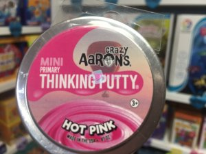 Crazy Aaron's Thinking Putty 5cm - Hot Pink
