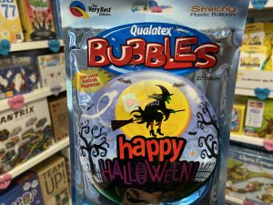 Halloween - Ballon Bubble Sorciere