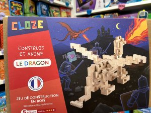 Jeu Construction Bois - Le Dragon