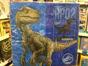 20 Serviettes Jurassic World