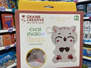 Kit Diamond Mosaique - Porte Monnaie Chat