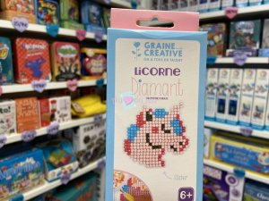 Kit Diamond Mosaique Sticker - Licorne