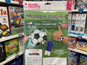 Kit Plastique Dingue - Porte Cles Football
