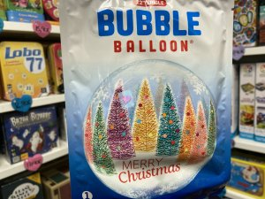 Noel : Bubble Balloon Sapins