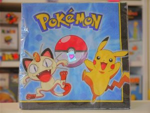 16 Serviettes Pokemon