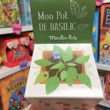 Pot Graines Basilic Moulin Roty