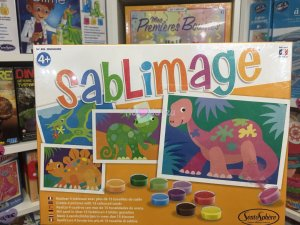 Sablimage - Dinosaure