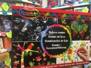 Scratch Art Combo De Luxe