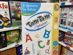 Tam Tam Safari - Le Coffret Alphabet