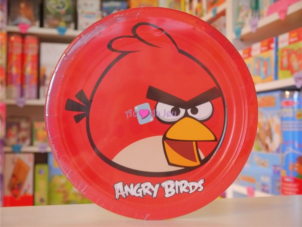 8 Assiettes Angry Birds
