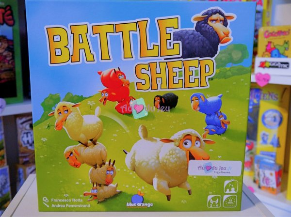 Battle Sheep Blackrock Editions