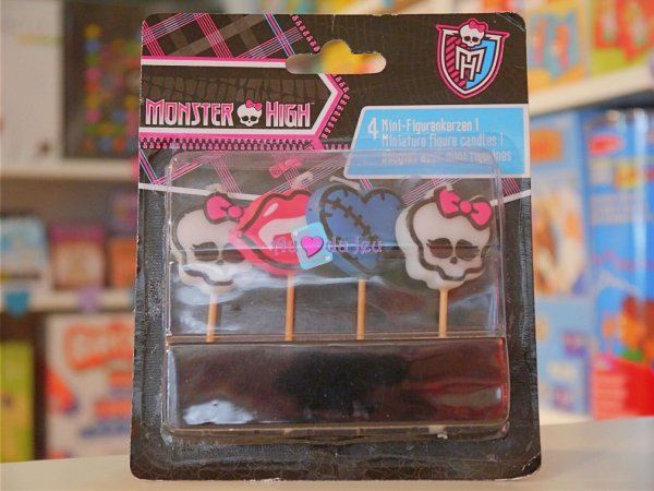 Bougies Anniversaire Monster High