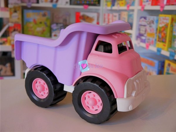 Camion de Chantier Rose - Green Toys