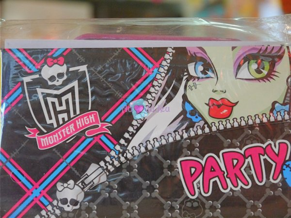 Cartes d'Invitation Anniversaire Monster High