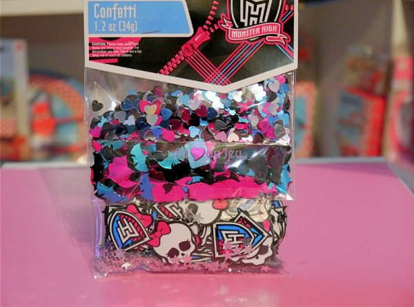 Confettis Monster High