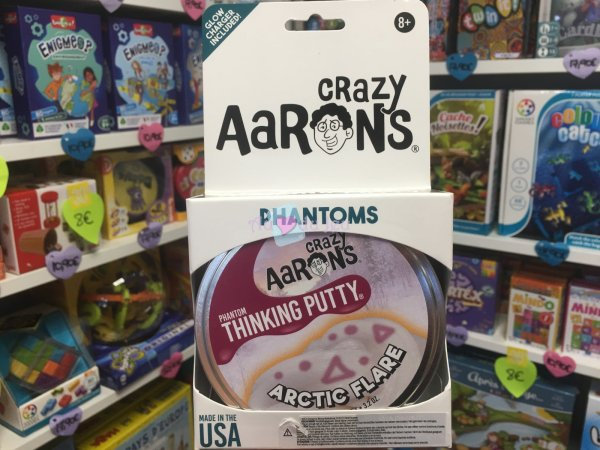 Crazy Aaron's Thinking Putty 10cm - Artic Flare Crazy Aaron's