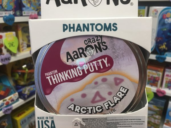 Crazy Aaron's Thinking Putty 10cm - Artic Flare