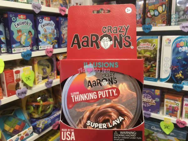 Crazy Aaron's Thinking Putty 10cm - Super Lava Crazy Aaron's