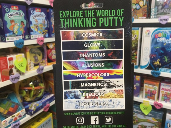 Crazy Aaron's Thinking Putty 10cm - Tidal Wave