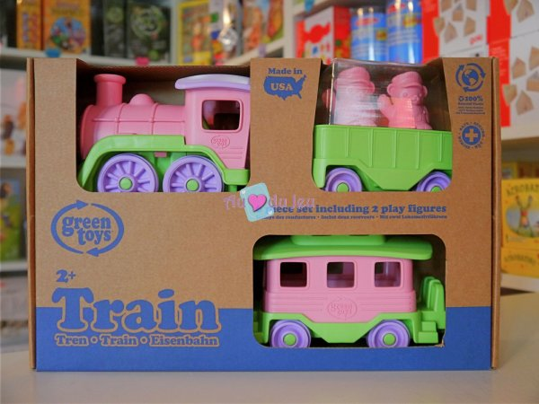 Green Toys - Train Rose Green Toys
