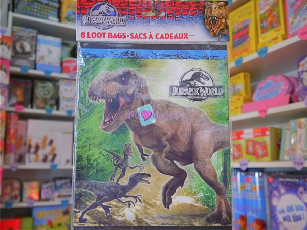 8 Sacs Bonbons Jurassic World