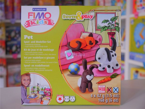 Kit Fimo Kids - Animaux Graine Creative
