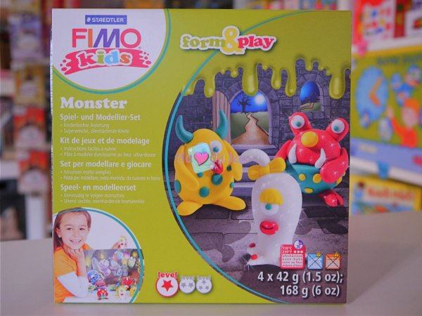 Kit Fimo Kids - Monstres Graine Creative