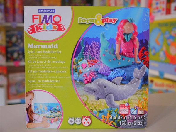 Kit Fimo Kids - Sirene Graine Creative