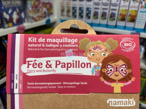 Kit Maquillage Fée & Papillon Namaki