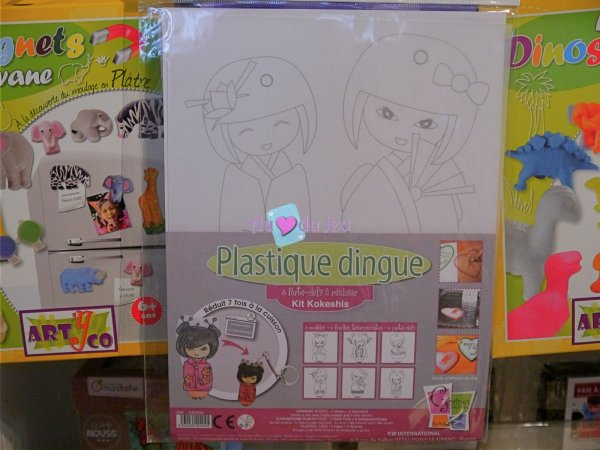 Kit Plastique Dingue - Kokeshis Graine Creative