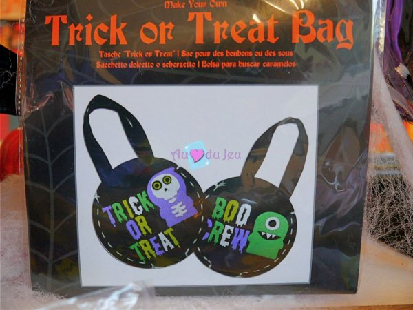 Kit Sac Halloween APLI Kids