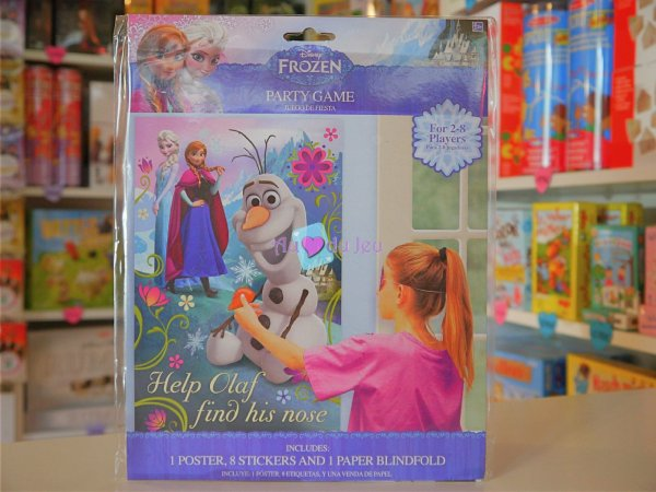 Party Game - Jeu Reine Des Neiges