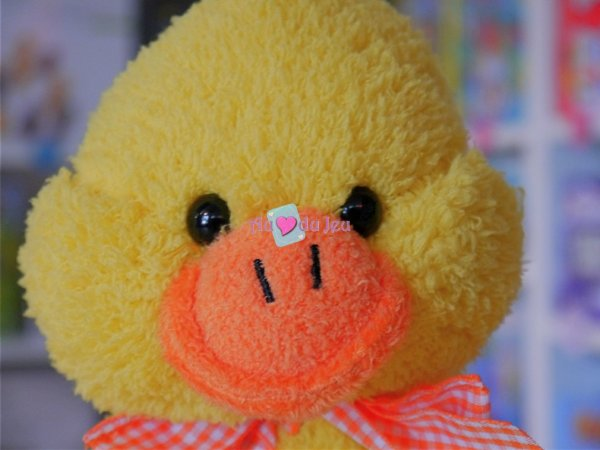 Peluche Sonore Canard