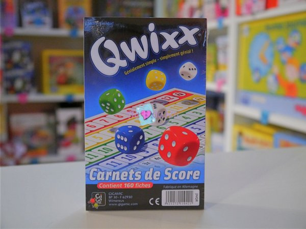 Qwixx Recharge Gigamic