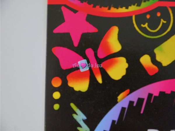 Scratch Art - Arc En Ciel (dessins à gratter)