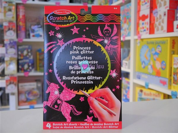 Scratch Art - Princesses (dessins à gratter) Melissa & Doug