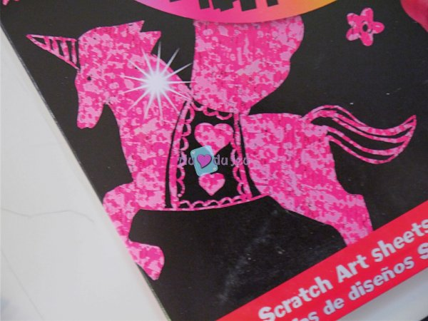 Scratch Art - Princesses (dessins à gratter)